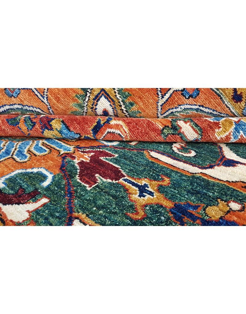 (11'1 x 8'5) feet super fine oriental kazak rug 340x260 cm