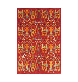 super fein oriental kazak teppich 350x260 cm  ikat