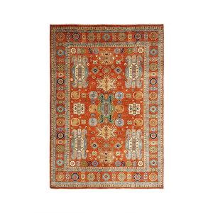 super fijn oriental kazak vloerkleed 353x268 cm