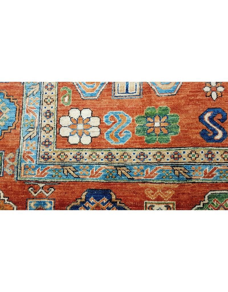 super fein oriental kazak teppich 353x268 cm