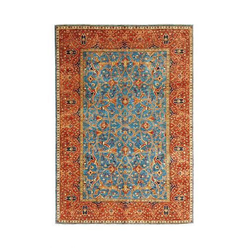 super fijn oriental kazak vloerkleed 347x257 cm