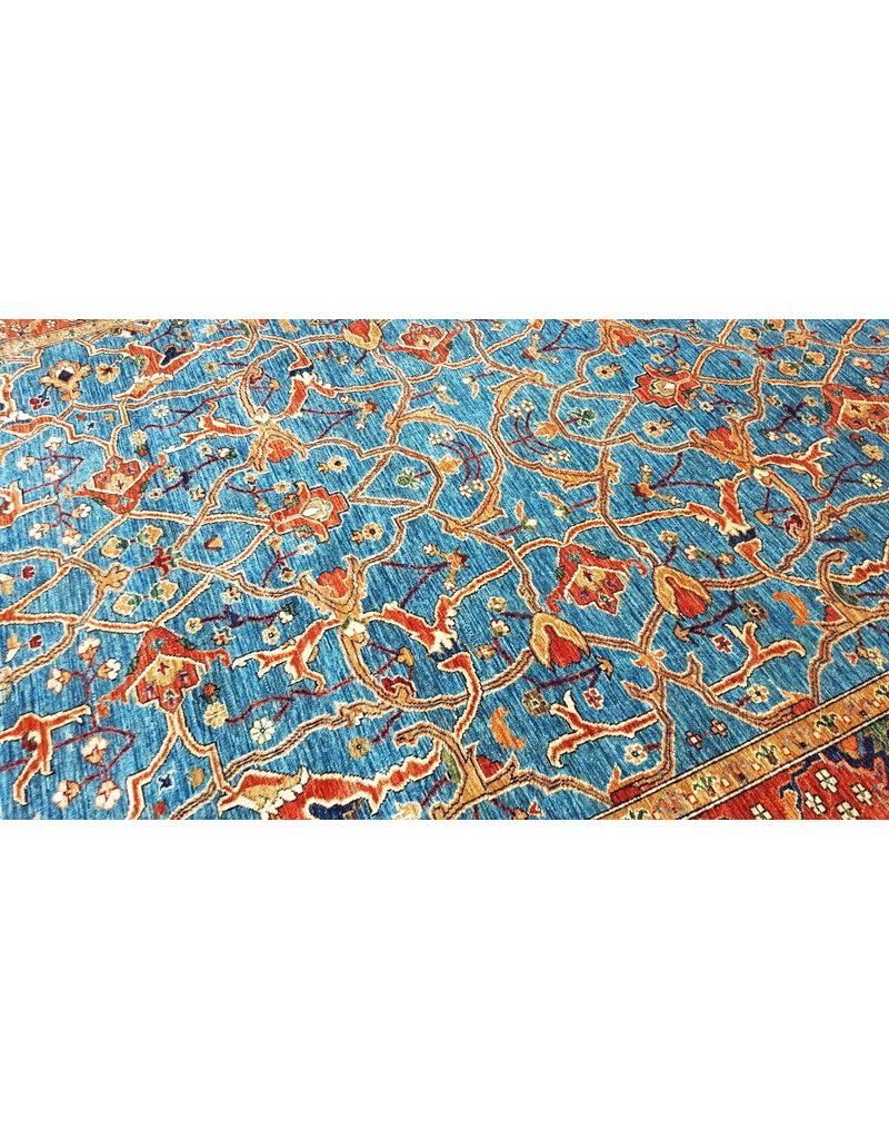 super fein oriental kazak teppich  347x257 cm