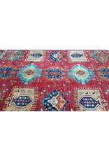 super fein oriental kazak teppich 362x278 cm