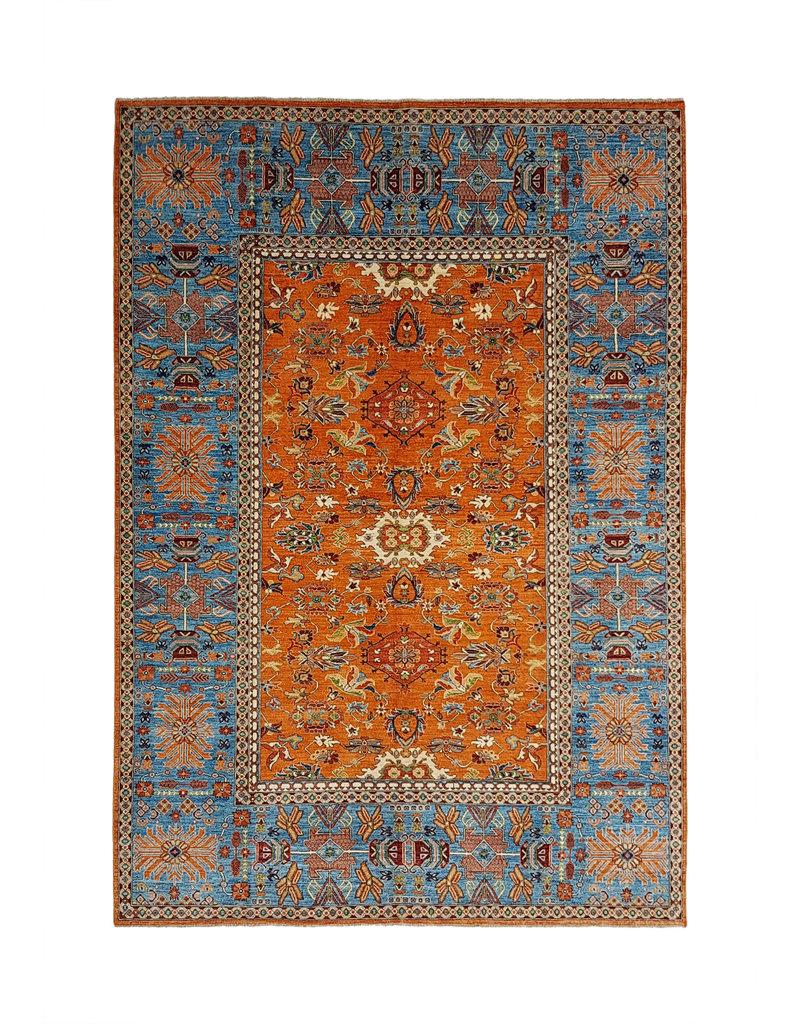 super fein oriental kazak teppich 353x267 cm