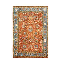 (11'4 x 8'5) feet super fine oriental kazak rug 348x260 cm