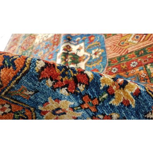 (11'5 x 8'3) feet super fine oriental kazak rug  351x253 cm