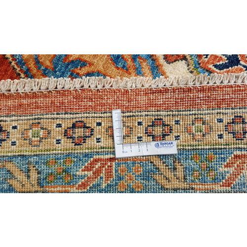 super fijn oriental kazak vloerkleed 350x250 cm