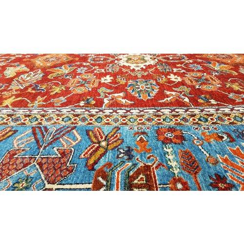 (11'8 x 9'2) feet super fine oriental kazak rug 360x281 cm