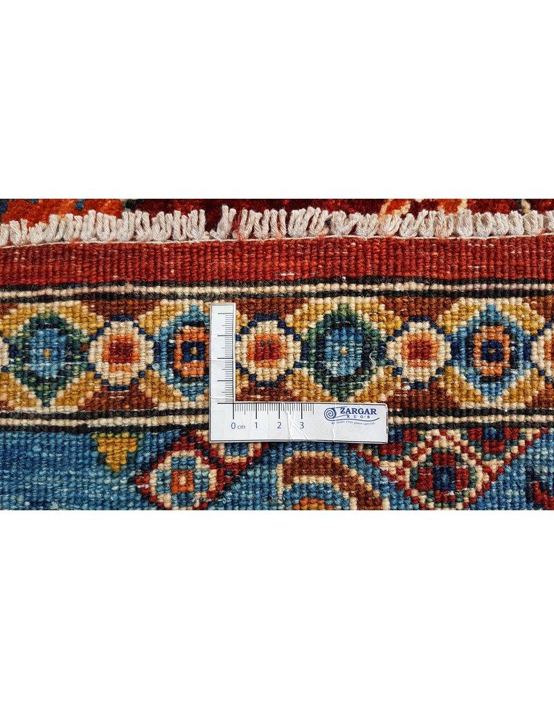 super fijn oriental kazak vloerkleed 360x281 cm