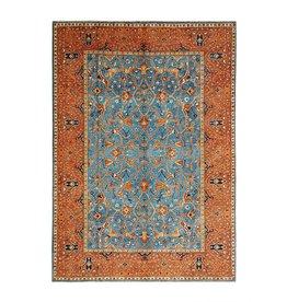 (11'4 x 8'7) feet super fine oriental kazak rug 349x266 cm