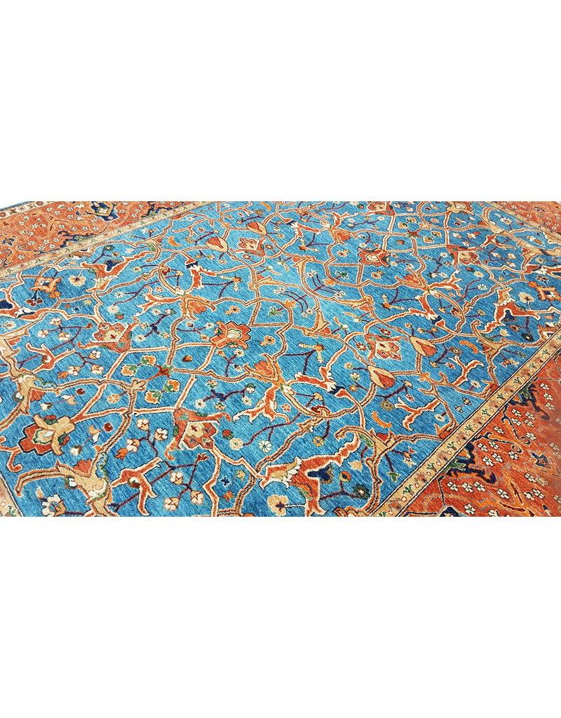 super fijn oriental kazak vloerkleed 349x266 cm