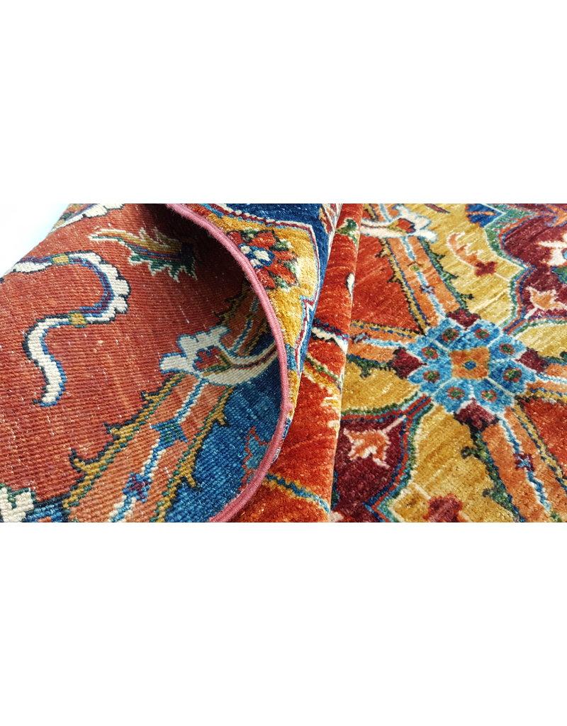 super fein oriental kazak teppich  343x247 cm