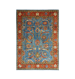 (11'2 x 8'3) feet super fine oriental kazak rug  344x255cm