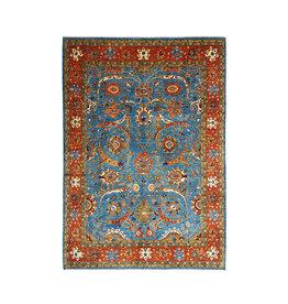 super fein oriental kazak teppich 344x255cm