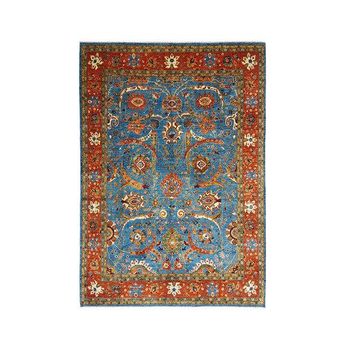 (11'2 x 8'3)feet super fine oriental kazak rug  344x255cm