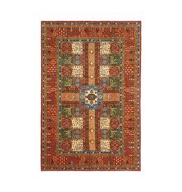 (12'2 x 8'1) feet super fine oriental kazak rug 373x249cm