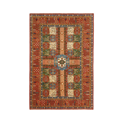 super fijn oriental kazak vloerkleed  373x249cm