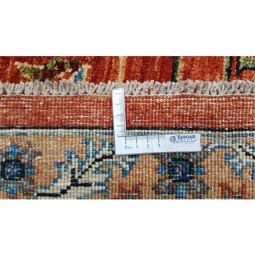 super fijn oriental kazak vloerkleed  352x254cm
