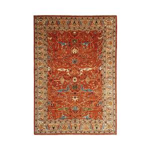 (11'5 x 8'3) feet super fine oriental kazak rug 352x254cm