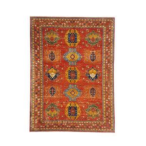(11'7 x 9'0) feet super fine oriental kazak rug 359x277cm