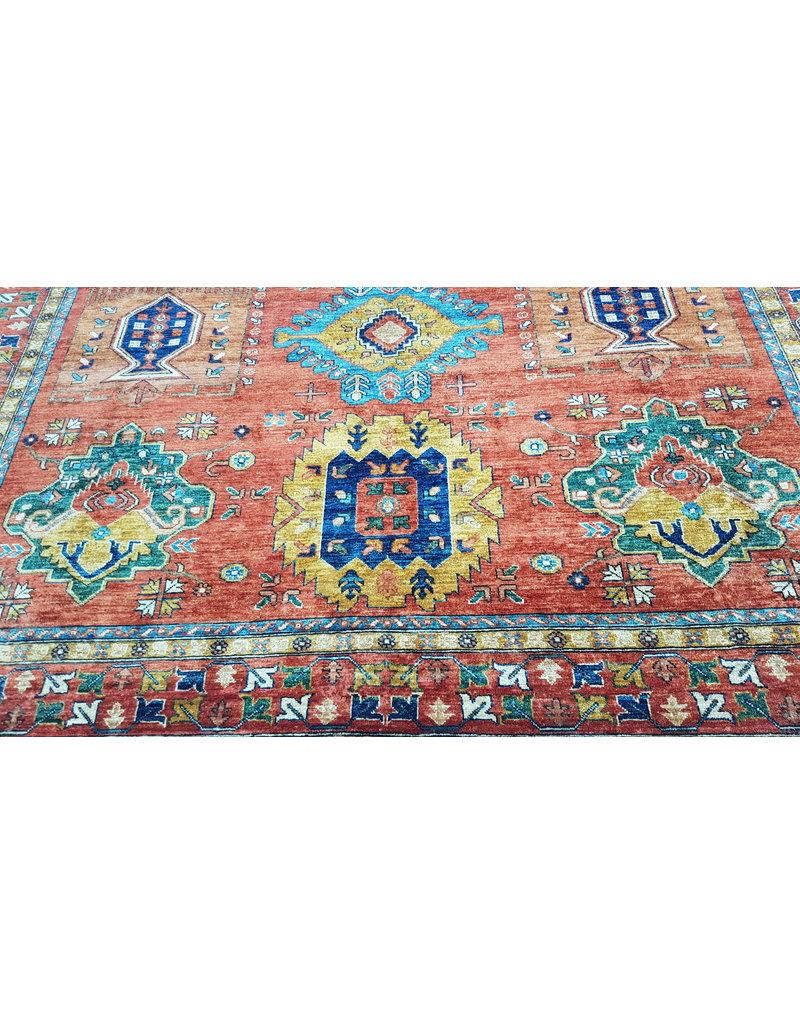 (11'7 x 9'0)feet super fine oriental kazak rug 359x277cm
