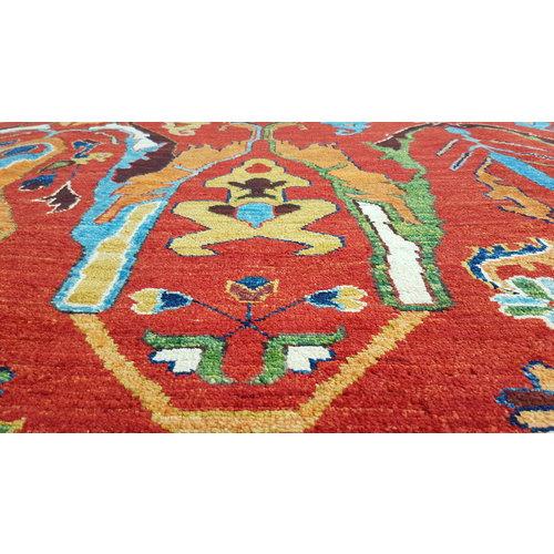 super fijn oriental kazak vloerkleed 350x260cm