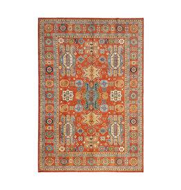 (11'5 x 8'4) feet super fine oriental kazak rug 351x257cm