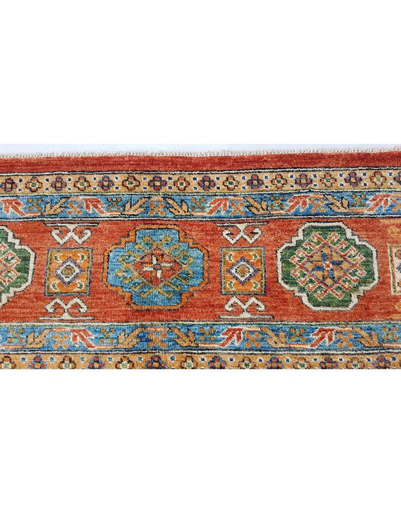 (11'5 x 8'4)feet super fine oriental kazak rug 351x257cm