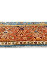 (11'1 x 8'2)feet super fine oriental kazak rug 349x250cm