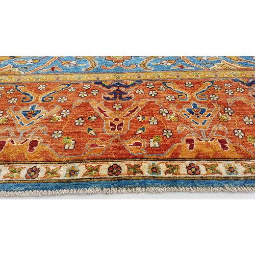 super fein oriental kazak teppich 349x250cm