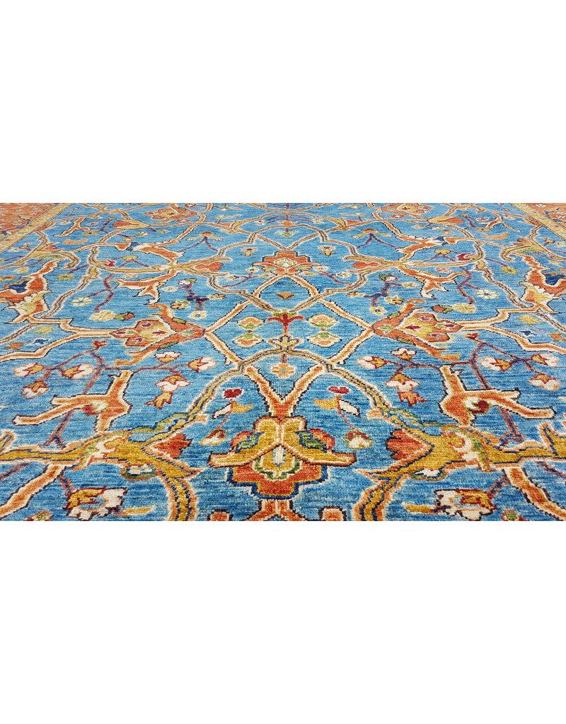 super fijn oriental kazak vloerkleed 349x250cm