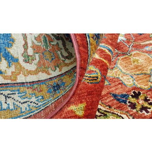 super fein oriental kazak teppich 347x255cm