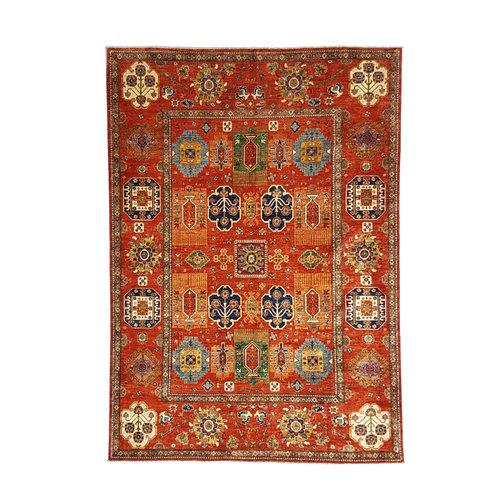 (11'6 x 8'9) feet super fine oriental kazak rug 356x272cm