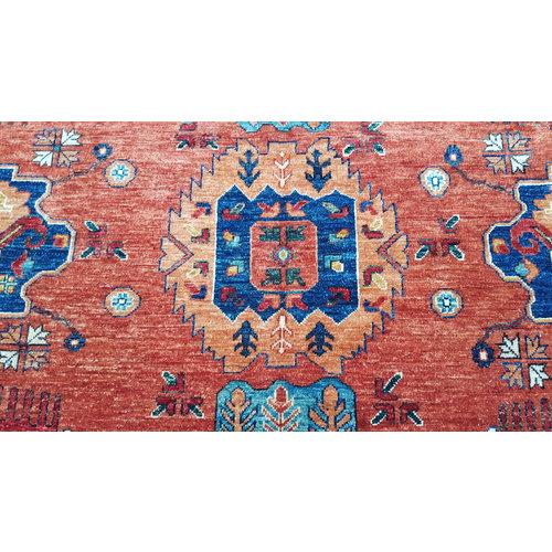 super fijn oriental kazak vloerkleed 368x281cm