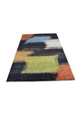 ZARGAR RUGS Handgeknüpft Modern Art Deco  300x199 cm   Abstrakt Wolle Teppich multi design 18 flag