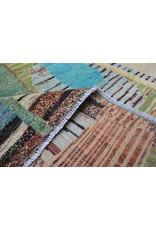 ZARGAR RUGS Hand knotted 9'5x6'5 Modern  Art Deco Wool Rug 292x198 cm  Abstract Carpet   multi design 79
