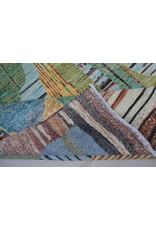 ZARGAR RUGS  Handgeknoopt Modern Art Deco tapijt 292x198 cm  oosters kleed vloerkleed  multi  design 79