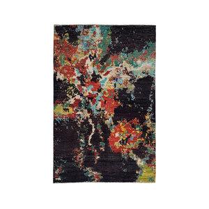 Handgeknoopt Modern Art Deco tapijt 299x198 cm  oosters kleed vloerkleed  multi