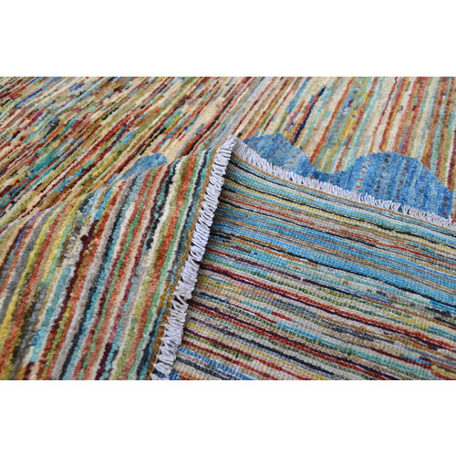 Hand knotted 9'48x6'43 modern flag Wool Rug Gabbeh teppich Rugs Carpet