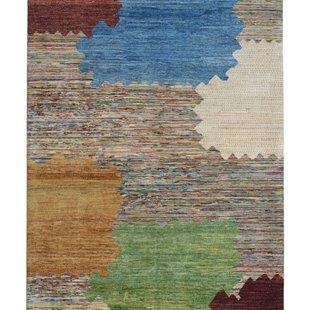 Hand knotted 9'48x6'43 modern flag Wool Rug Gabbeh teppich Rugs Carpet