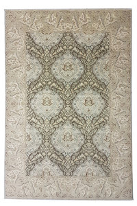 Hand knotted 9'54 x6'75  ziegler carpet oushak  fine Rug Oriental brown