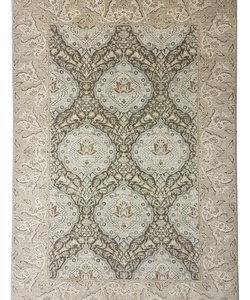 Hand knotted 9'54 x6'75  ziegler carpet oushak  fine Rug Oriental brown