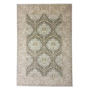 Farahan Hand knotted 9'54 x6'75  ziegler carpet oushak  fine Rug Oriental brown
