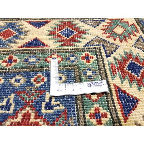 Handgeknoopt Royal Rood kazak tapijt 149x99 cm   vloerkleed Traditional