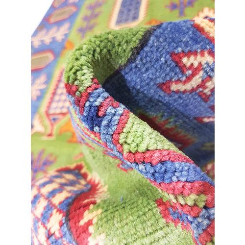 Handgeknoopt Royal Rood kazak tapijt 149x97 cm   vloerkleed Traditional