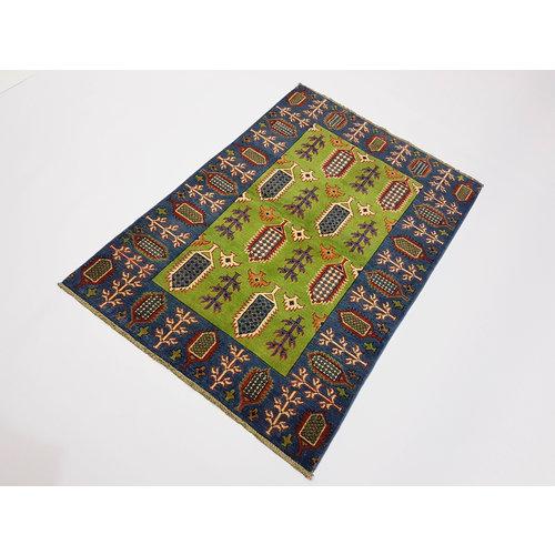Handgeknoopt Royal kazak tapijt 151x102 cm   vloerkleed Traditional