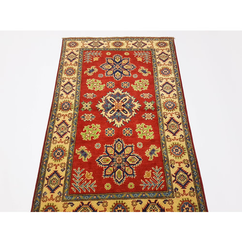 Traditional Wool Rug Tribal 5'08x3'24 Hand knotted  carpet  Royal kazak