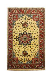 Traditional Wool Rug Tribal 4'72x3'08 Hand knotted  carpet  Royal kazak