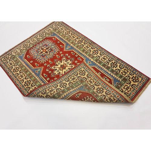 Handgeknoopt Royal kazak tapijt 145x102 cm   vloerkleed Traditional