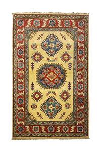 Traditional Wool Rug Tribal 5'08x3'28 Hand knotted  carpet  Royal kazak